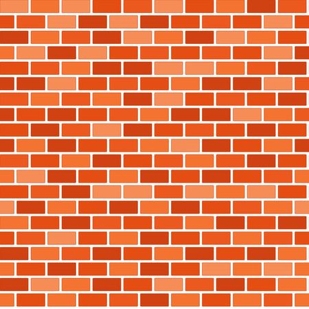 Brown Backsteinmauer Hintergrund - Vector Vektorgrafik