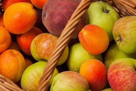 digestive disease: Fresh ripe fruit contain plenty of vitamins and low in calories, for digestive tract, hormonal balance, male strength , from wrinkles, prevent development of cancer and heart disease. Stock Photo
