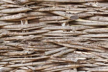 cheapness: Texture of wicker fence - the idea of a rustic simple natural background