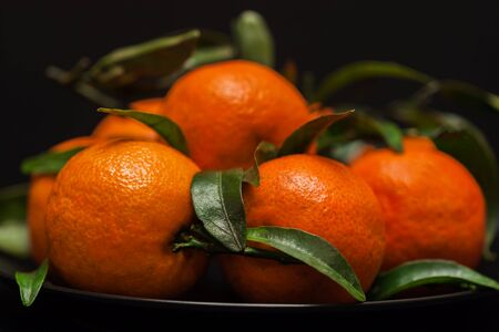 Tangerine . Mandarin. Solar fruit with energy of the sun, symbol of happiness, wealth and success
