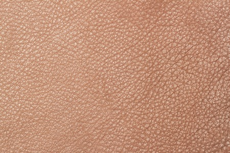 cuero vaca: Light brown leather texture surface. Close-up of natural grain cow leather Light brown leather texture surface. Background Foto de archivo