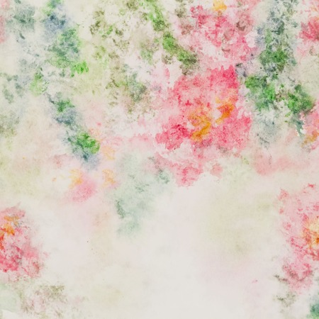 brittle: Delicate pink flowers in soft pastel color in blur style. Abstract spring watercolor background Stock Photo