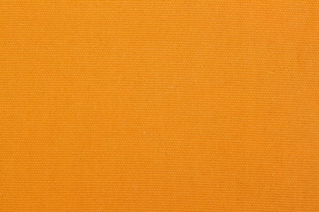 Bright orange Fabric Texture, background and design with copy space for text or image.