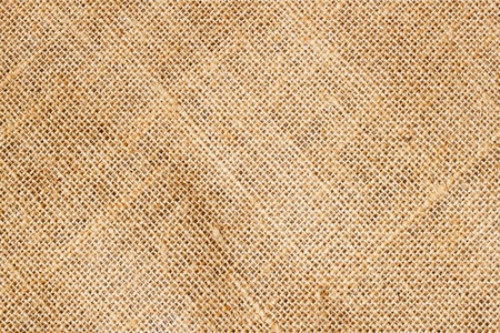 Closeup of Texture Natural sackcloth for background. Eco friendly. Place  writing text