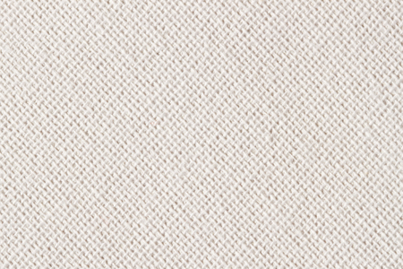 Sackcloth, canvas, fabric, jute, texture pattern for background. Cream soft color. Large diagonal