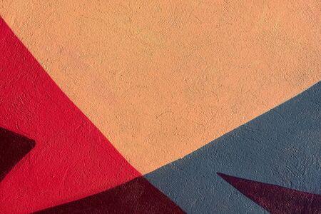 다채로운 추상 질감 된 배경입니다. 거리 예술, 회 반죽 스톡 콘텐츠