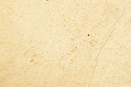 Texture of old organic light cream paper with wrinkles, background for design with copy space text or image. Recyclable material, has small inclusions of cellulose 스톡 콘텐츠 - 98819230