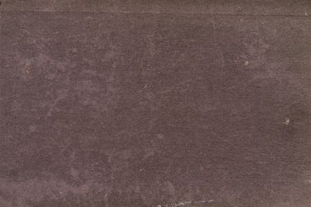 Texture of maroon aged paper sheet, dirt stains, spots, wrinkle, grunge vintage background Stock Photo