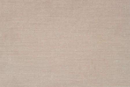 Sackcloth, canvas, fabric, jute, texture pattern Cream soft color Natural rough background Imagens
