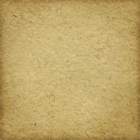 Grunge beige handgeschöpftem Papier Hintergrund mit Rahmen