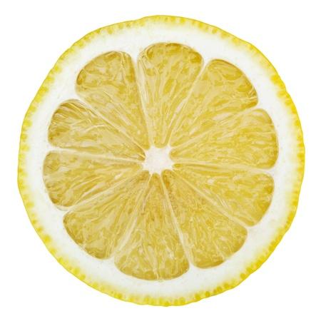 Lemon isolé sur fond blanc