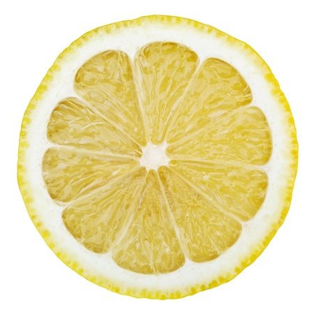 Lemon isolated on white background Zdjęcie Seryjne