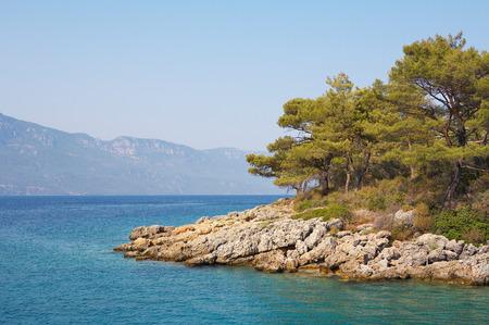 Aegean sea landscape  Turkey  Marmaris