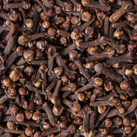 Dried cloves background
