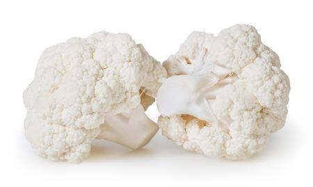 Cauliflowers isolated on white background Reklamní fotografie