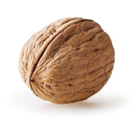 Walnut isolated on white background Zdjęcie Seryjne