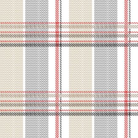 Seamless Scottish plaid. Checkered vector textile pattern.
