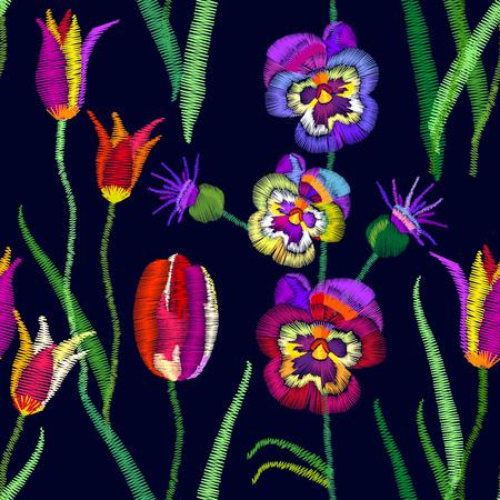 Retro textile collection.