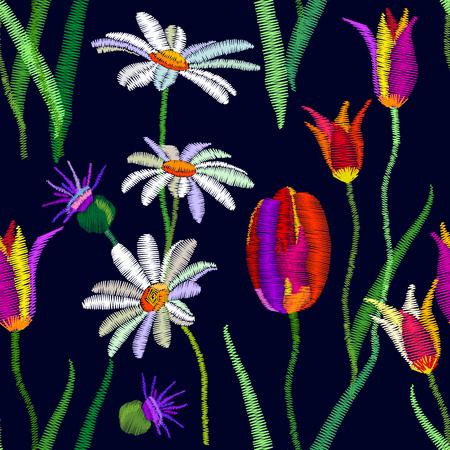 1950s-1960s motifs. Illustration