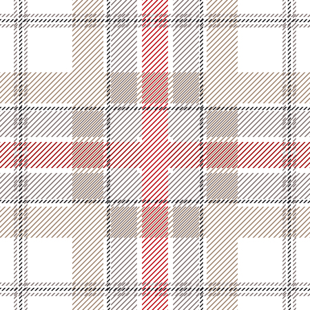 Seamless vector pattern with checkers and stripes. Hipster fashion collection. Textile design for shirts, dresses, plaids, napkins, tablecloth.