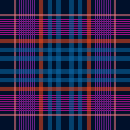 Seamless pattern with thin stripes. Autumn textile collection. Blue.