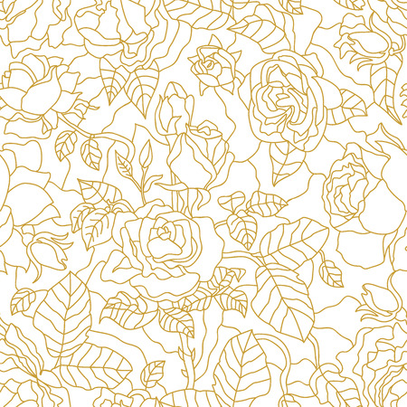 Seamless vector pattern with Art Deco motifs.