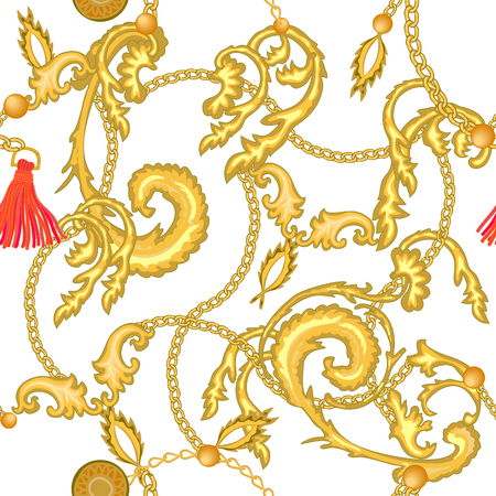 Realistic scrolls, leaves, brishes and other decorative elements on white background. Vintage design collection.