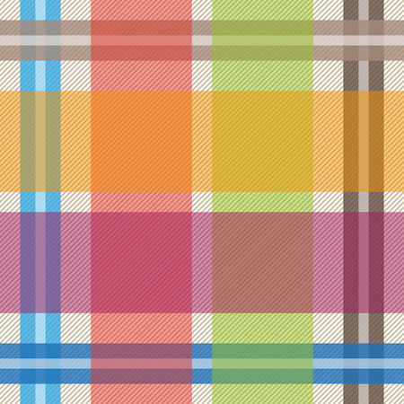 Seamless vector pattern with checkers and stripes. Hipster fashion collection. Textile design for shirts, dresses, plaids, napkins, tablecloth. Vektoros illusztráció