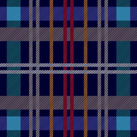 Trendy fabric design with Scandinavian motifs. Template for plaids, shirts, suits, dresses.