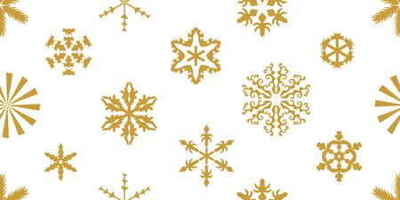 Seamless print for winter decorations, gift wrappings, cards and posters. Illusztráció
