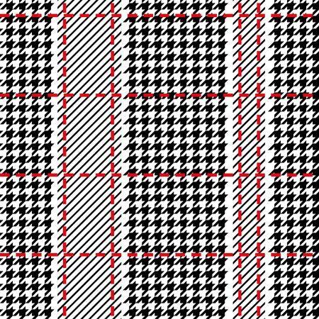 Seamless geometric pattern for scarfs, plaids, coats, suits, uniform. Winter textile collection. Фото со стока - 129795500