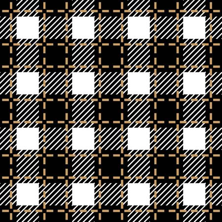 Seamless geometric pattern for scarfs, plaids, coats, suits, uniform. Winter textile collection. Фото со стока - 129795501