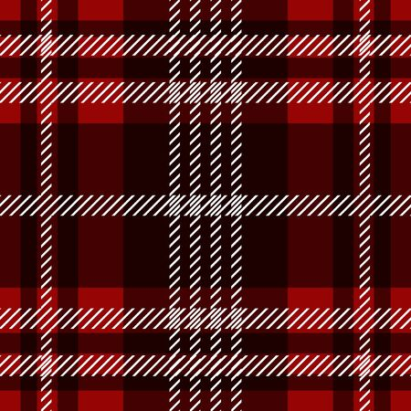 Seamless geometric pattern for scarfs, plaids, coats, suits, uniform. Winter textile collection.  イラスト・ベクター素材