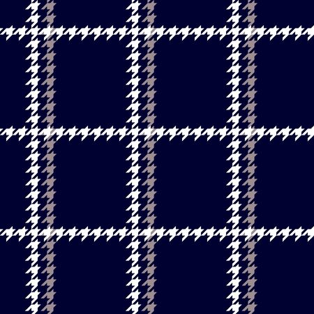 Winter textile collection. Template for coats, scarfs, plaids. Иллюстрация
