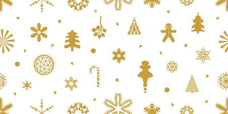 Template for gift wrappings, cards and other decorations. Иллюстрация