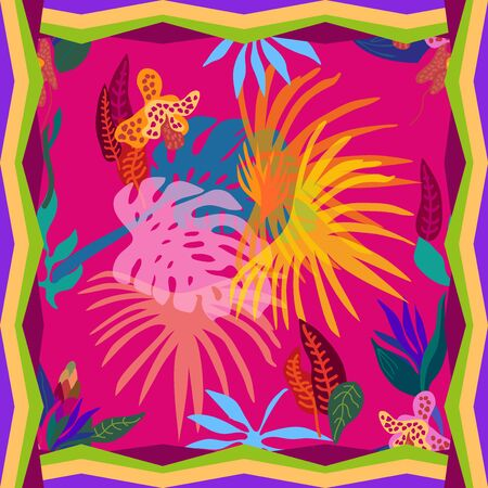 Summer textile design collection.