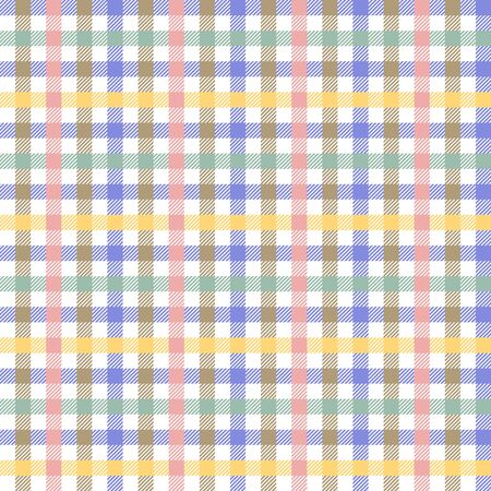 Template for shirts, plaids, scarfs, napkins. Multicolored.