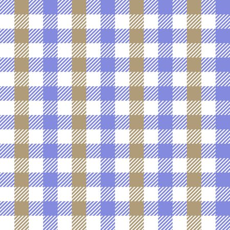 Template for shirts, plaids, scarfs, napkins. Blue, beige.