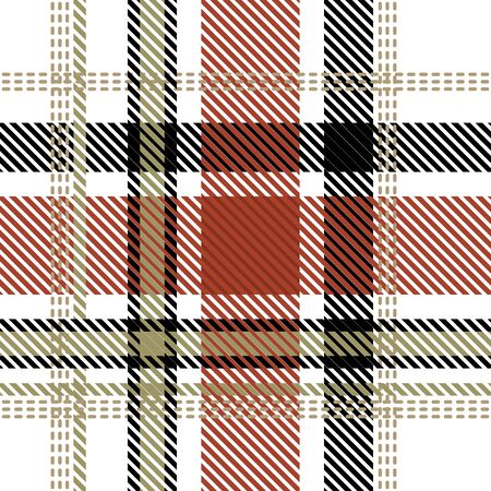 Template for plaids, shirts, napkins, dresses. White, grey, red.