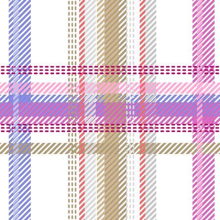 Retro textile design collection. Pink, purple, white.