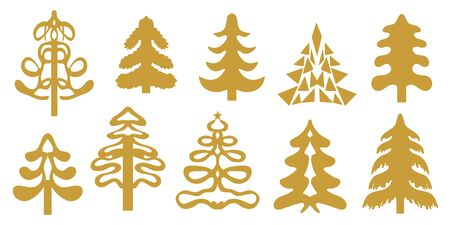 Vector elements for cards, banners, posters and gift wrappings.