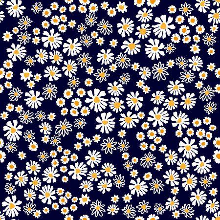 Colección de diseño textil de verano. Sobre fondo oscuro.