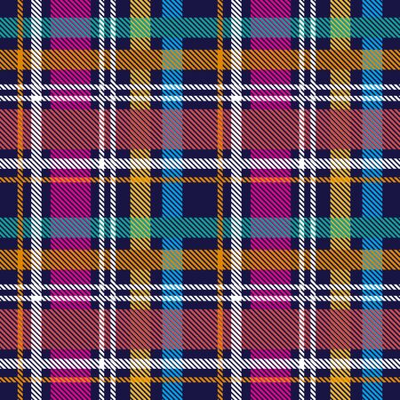 Template for plaids, scarves ond other clothes. Yellow, purple, green.