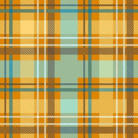 Template for plaids, scarves ond other clothes. Yellow, blue, green.