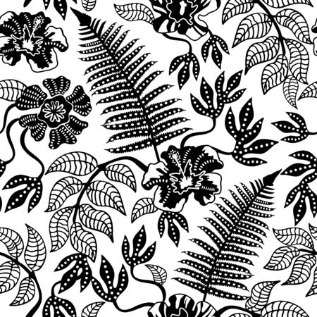 Template for textile design, cards, wrapping paper and other decorations.