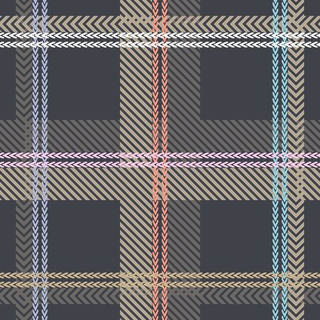 Template for plaids, scarves, shirts, suits.