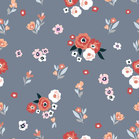 Vintage collection. Template for textile design, cards, wallpapers, gift wrappings. Vektorgrafik