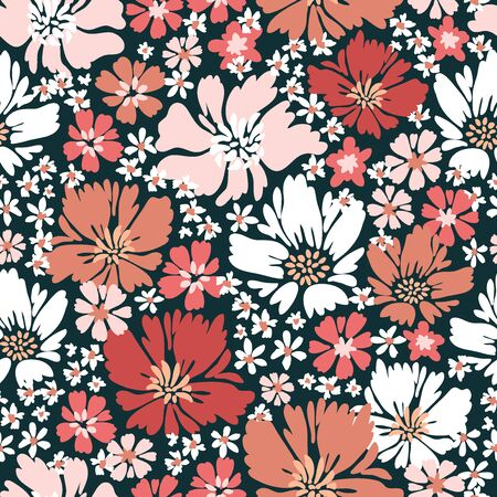 Vintage textile collection. Template for textile, cards, wrapping paper.