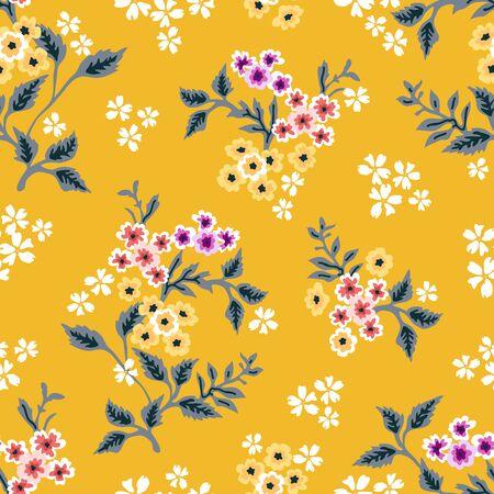 Retro textile collection. Seamless vector pattern. Vektorgrafik