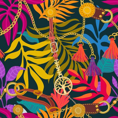 Template for scarves, dresses, shirts. Vintage textile collection.